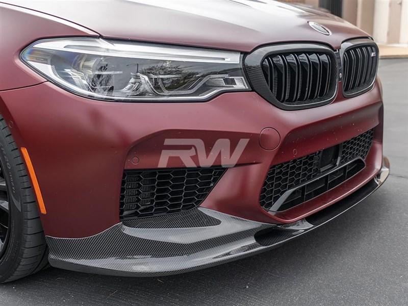 BMW F90 M5 3D Style Carbon Fiber Front Lip
