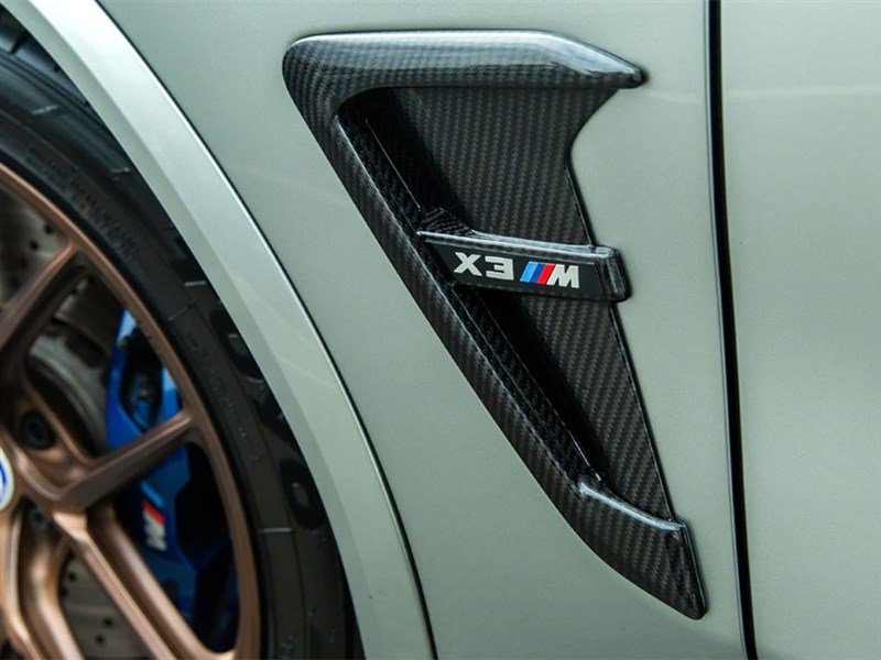 BMW G02 Carbon Fiber Fender Trims
