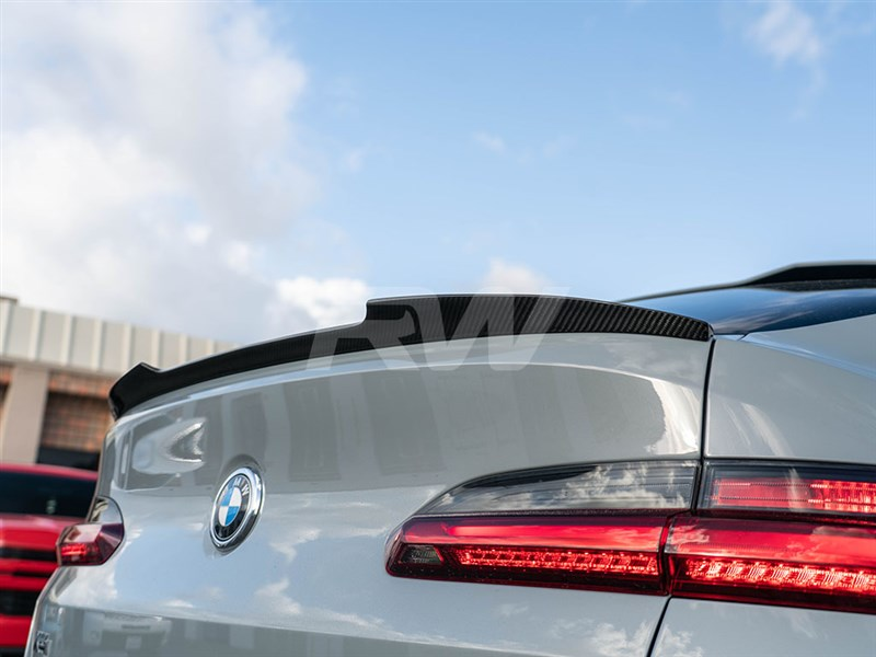 BMW G02 X4 F98 X4M Carbon Fiber Trunk Spoiler