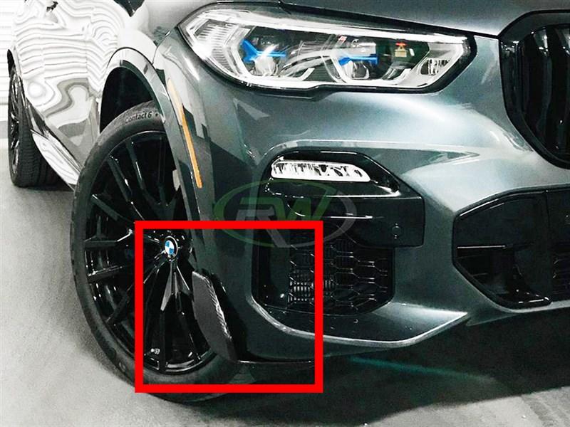 BMW G05 X5 Carbon Fiber Front Winglets