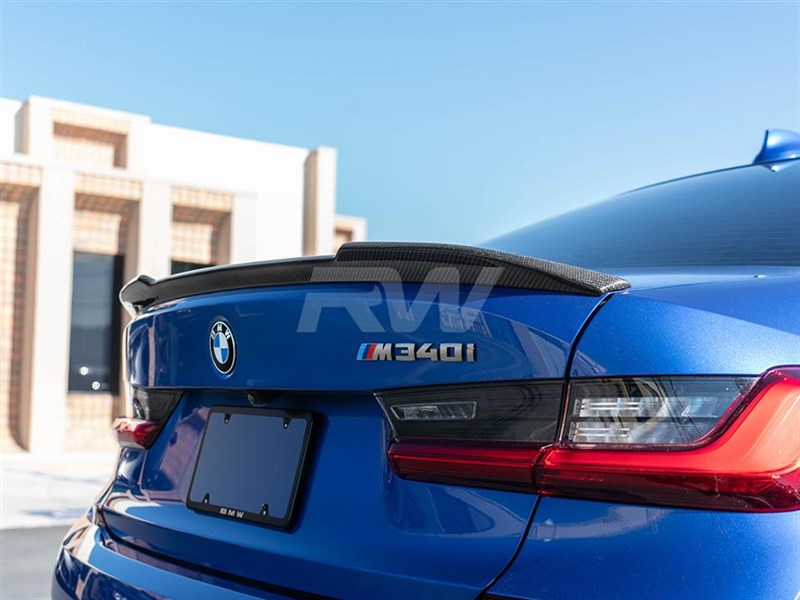 View the CS styled trunk spoiler for the BMW G20