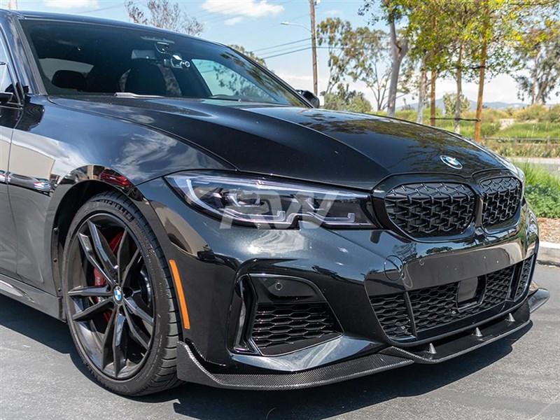 BMW G20 DTM Carbon Fiber Front Lip Spoiler