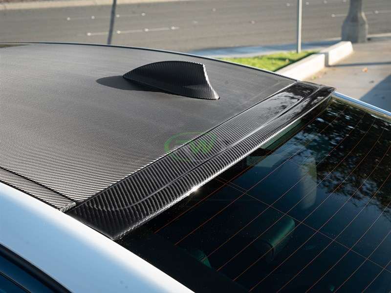 BMW F90 Carbon Fiber Roof Spoiler