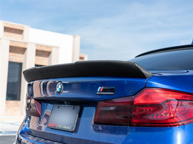BMW F90 RWS Carbon Fiber Trunk Spoiler