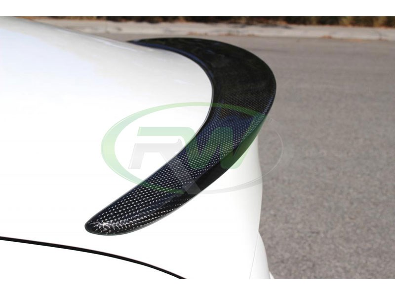RW Carbon CLA Carbon Fiber Trunk Spoiler for all 2013+ Models