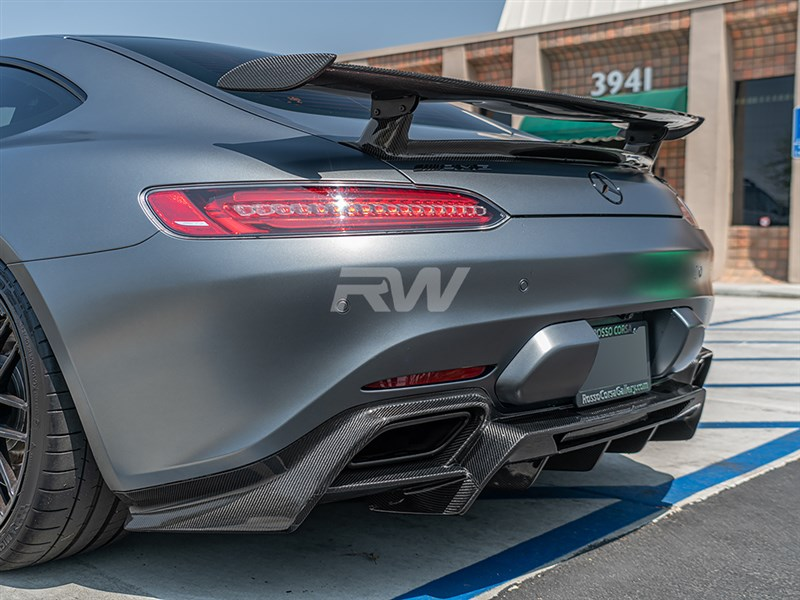 RW Carbon just released their new diffuser for Mercedes C190 GT and GTS