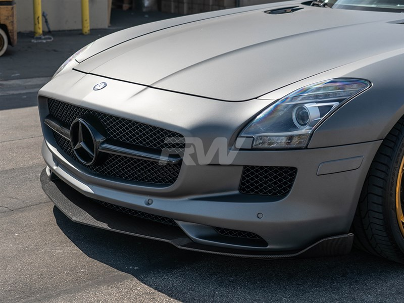Click here to view Mercedes SLS AMG CF Renn Style Front Lip Spoiler