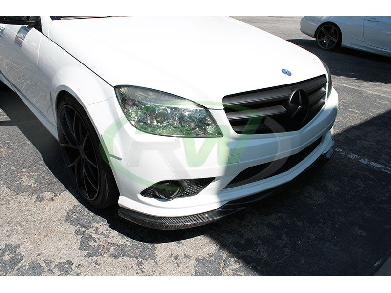 Click here to view Carbon Fiber Front Lip Spoiler for W204 C Class C300 or C350 2008-2011