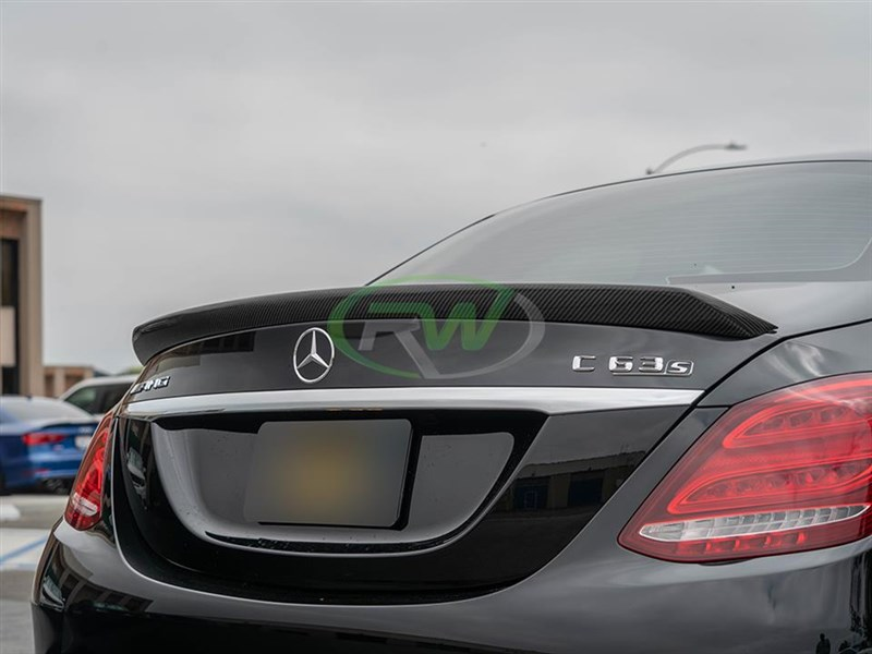 Aggressive style, easy to install DTM W205 C63 and C63 trunk spoiler