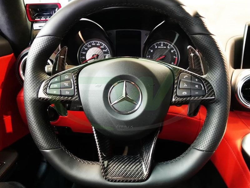 Shift faster with a set of w213 e63 paddle shifters