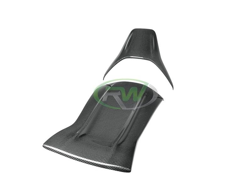 Mercedes W205 C63 Carbon Fiber Seat Backs