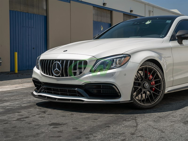 Check out the new MTC Style carbon fiber front lip spoiler for W205 c63 and c63s coupe and convertible