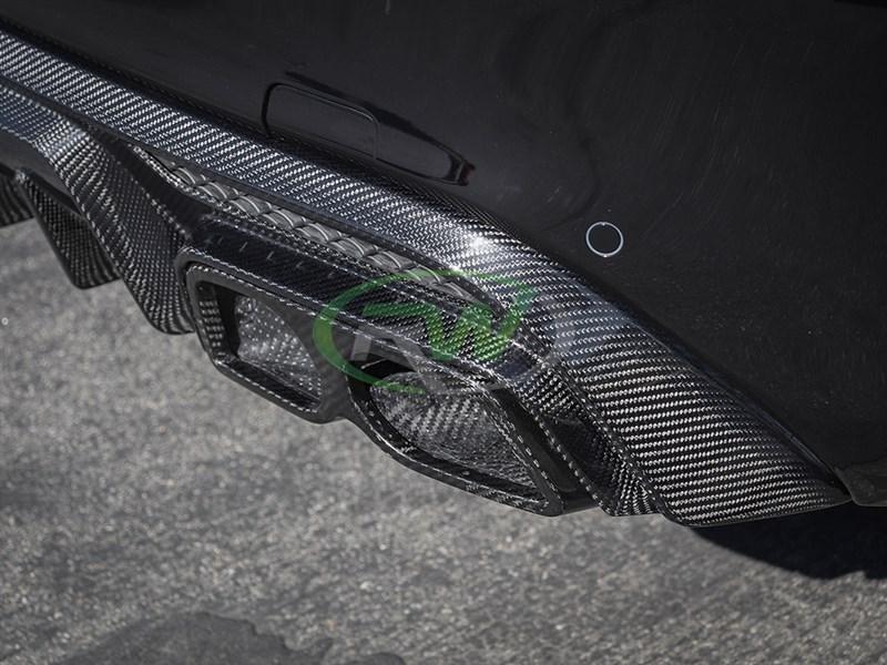 Mercedes W205/W212 Carbon Fiber Exhaust Tips