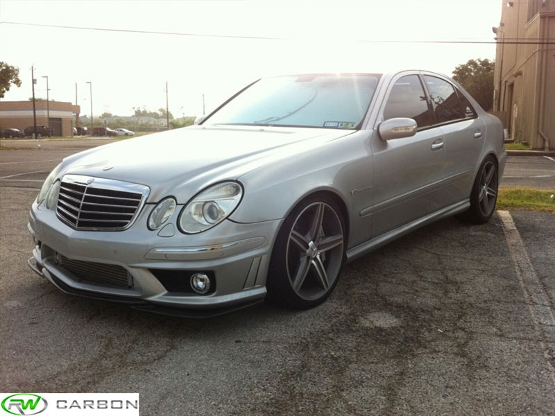Mercedes Benz W211 E63 Amg Godhand Style Front Lip Spoiler