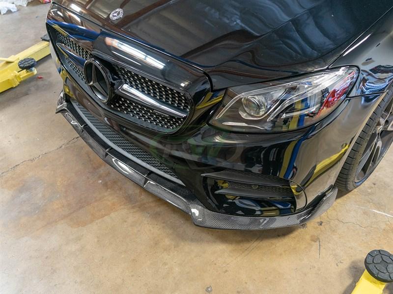 Carbon Fiber Sport Lip for your W213 E Class