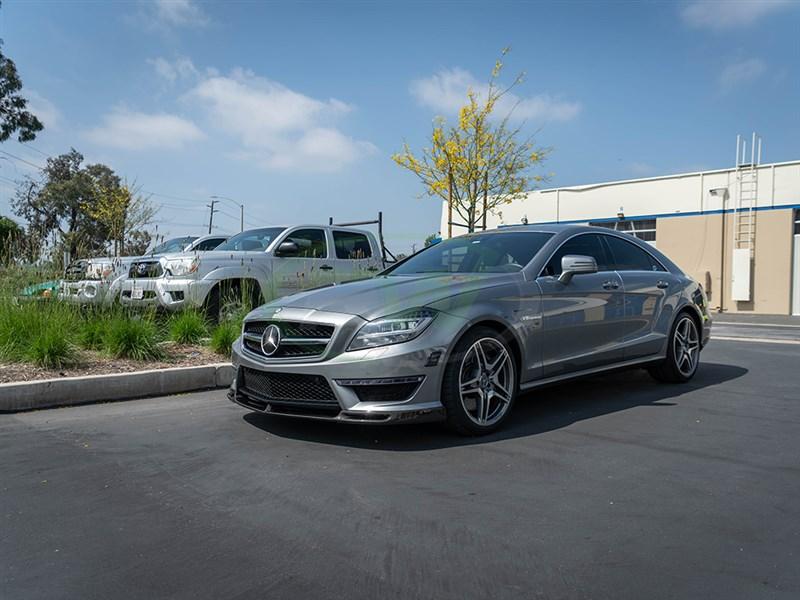 Mercedes W218 Cls63 Amg Dtm Carbon Fiber Front Lip Spoiler