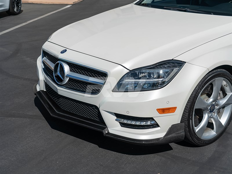 Click here to view Mercedes W218 Carbon Fiber Front Lip Spoiler