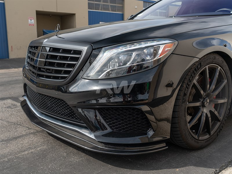 RW Carbon now carries an S63 AMG W222 Carbon Fiber Front Lip Spoiler